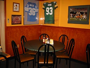 Private parties are welcome